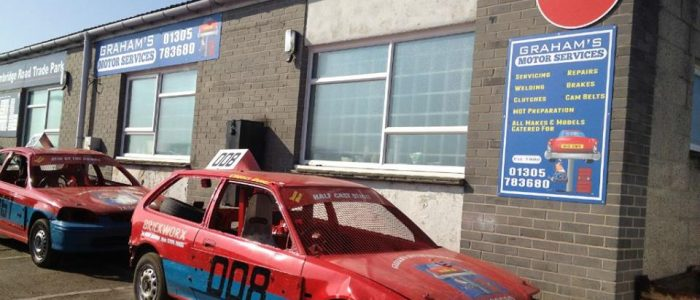 Motor repairs on the Granby Industrial Estate